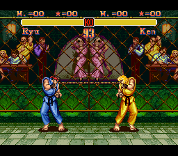 Super Street Fighter II Palette Correction