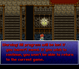 Chrono Trigger In-Game loading