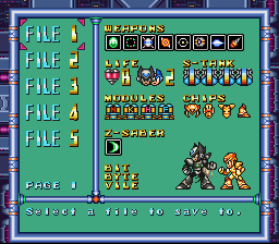 Romhacking net - Hacks - Mega Man X3 - Zero Project V4 0