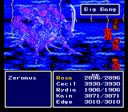 Final Fantasy II *is* Easy Type