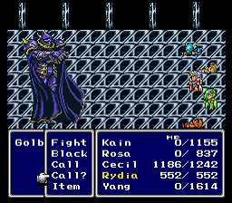Rydia's Restored Power