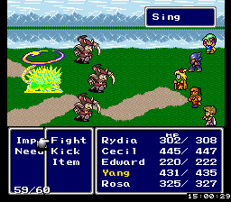 FF4 Sing Improvement Hack