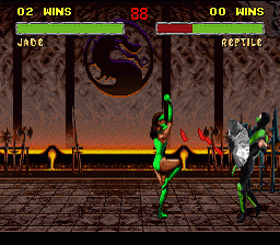 Mortal Kombat II - Hidden Characters Playable