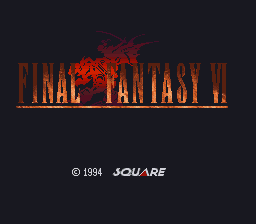 Final Fantasy VI Titlescreen Mod