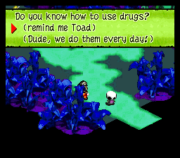Mario is a Drug Addict