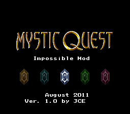 Mystic Quest Impossible Mod
