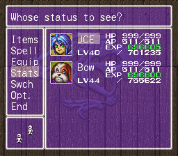 Breath of Fire II EasyType