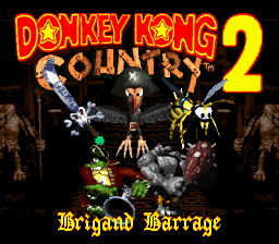 donkey kong country 2 smc