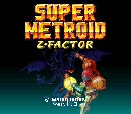 Romhacking net - Hacks - Super Metroid Z-Factor