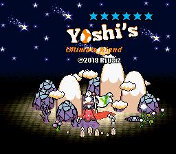 yoshi island rom
