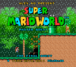 Romhacking net - Hacks - Super Mario World: Master Quest 8 - The
