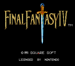 Project II: Final Fantasy IV