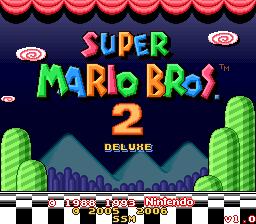 Romhacking net - Hacks - Super Mario Bros  2 Deluxe