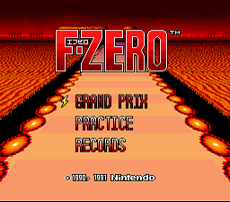 F-Zero - Alternative Strike