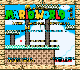 Classic Mario World - The Magical Crystals Definitive Version