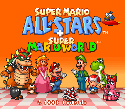 Super Mario All-Stars+Super Mario World Redux
