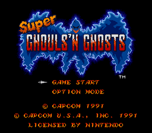 Super Ghouls N Ghosts - Super Arthur
