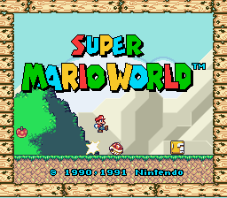 Super Mario World Redrawn