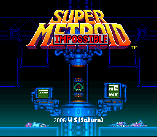 Super Metroid Impossible