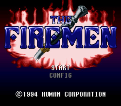The Firemen (Europe) NTSC Patch