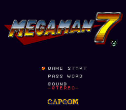 Mega Man 7 Restoration
