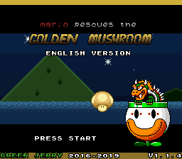 Mario Rescues the Golden Mushroom