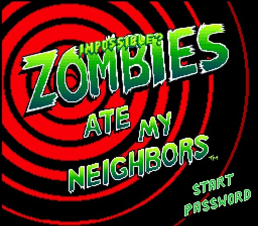 Impossible? Zombies Ate My Neighbors