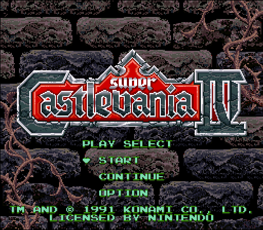 Super Castlevania IV - Alter Quest