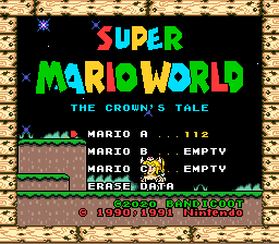 SMW The Crown Tale