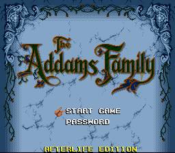 The Addams Family - Afterlife Edition