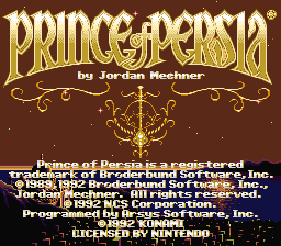 Prince Of Persia - 30th Anniversary Port