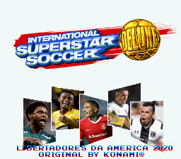 International Superstar Soccer Deluxe - Libertadores da America 2020