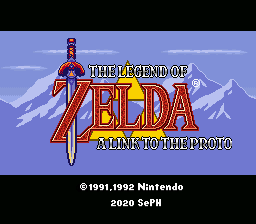 The Legend of Zelda - A Link to the Proto