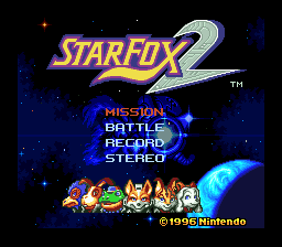 Starfox 2 Restoration Hack