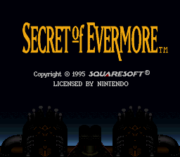Secret of Evermore Gameplay Balance Patch