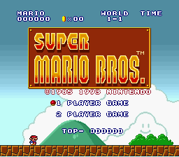 Super Mario Bros 1 SMAS - NESised