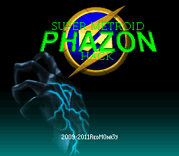 super metroid phazon hack 0.3