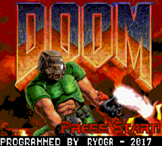 DooM Raycaster Engine (V1.1) (GBA)