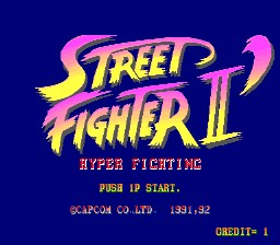 Romhacking Net Games Street Fighter Ii Hyper Fighting