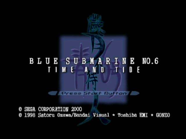Blue Submarine no.6 ~Time & Tide~