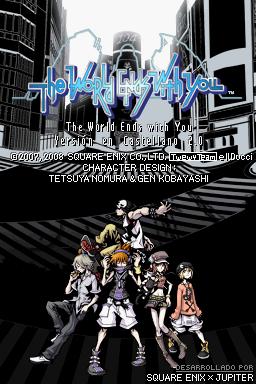 Translated Title Screen