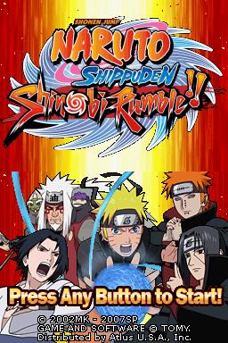 Romhacking Net Games Naruto Shippuden Shinobi Rumble