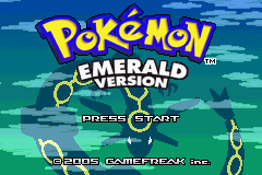 Pokemon Emerald - RTC Clock Patch