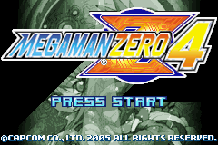 Mega Man Zero 4 Restoration