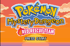 pokemon mystery dungeon team rot gba rom