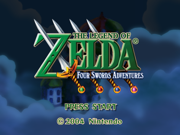 the legend of zelda 4 swords rom