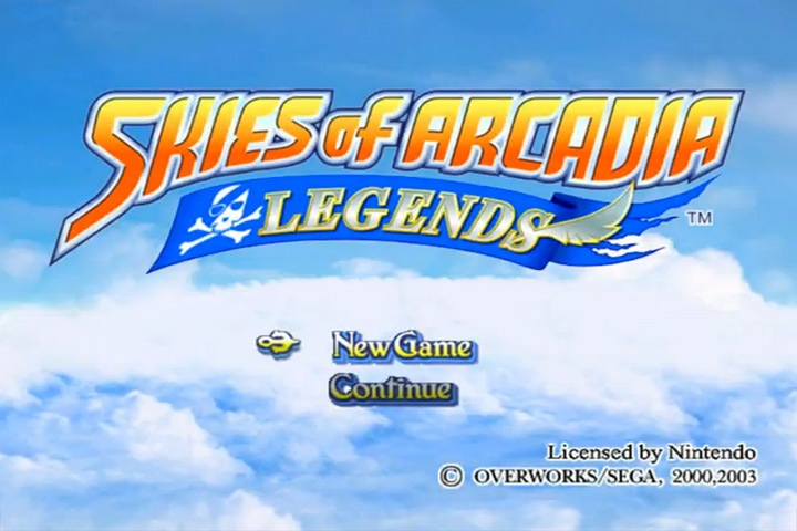 Skies of Arcadia Legends - Hold B to skip encounters