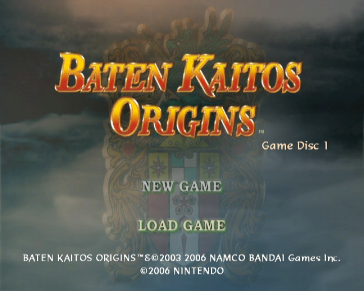 Baten Kaitos Origins Undub patch