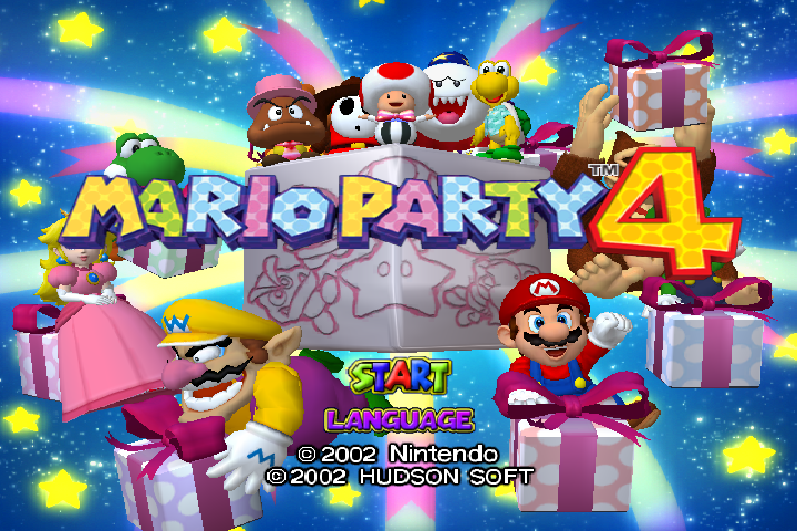 Mario Party 4 PAL 60hz Patch