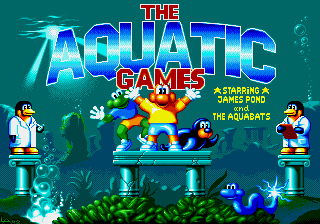 The Aquatic Games - Starring James Pond